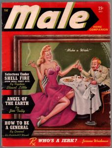 Male Home Companion #1 10/1942-Atlas-Stan Lee-Norman Saunders-1st issue-VG+