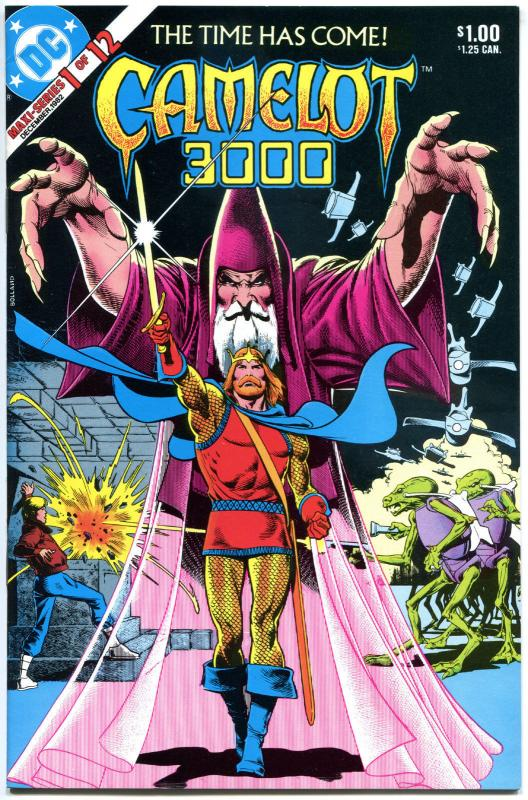 CAMELOT 3000 #1 2 3 4 5 6 7 8-12, VF/NM, 1982, Sword, Sorcery, Merlin, 1-12