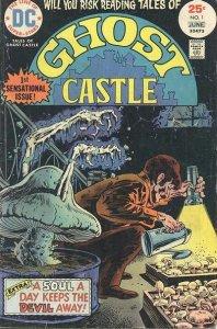 Ghost Castle #1 (ungraded) stock photo ID#B-10
