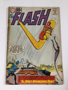 Flash 124 2.5 Gd+ Good + Dc Comics Silver Age Tape On Spine