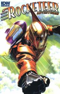 Rocketeer Adventures #1A VF; IDW | save on shipping - details inside