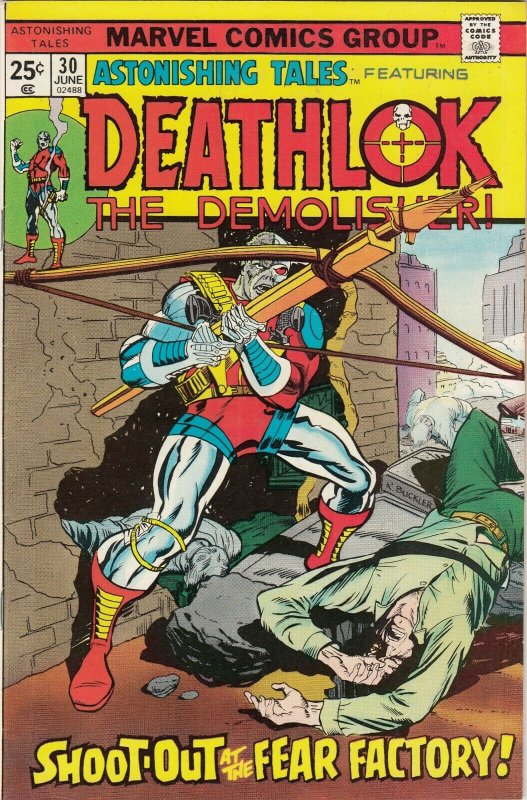 ASTONISHNG TALES FEATURNG DEATHLOK THE DEMOLISHER #20  FN   MARVEL COMICS