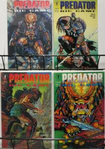PREDATOR BIG GAME (1991 DH) 1-4 EVAN DORKIN!!