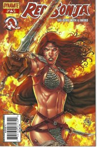 Red Sonja # 23 she devil with a sword