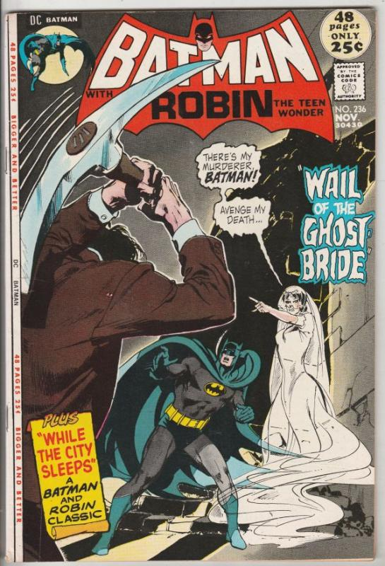 Batman #236 (Nov-71) NM- High-Grade Batman, Robin the Boy Wonder