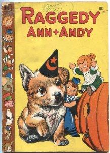 RAGGEDY ANN + ANDY #30-1948--HALLOWEEN ISSUE--WALT KELLY ART---DELL