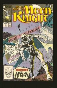 Marvel Comics Moon Knight  Vol 1 No 3 August 1989