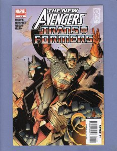 New Avengers/Transformers #1 VF/NM Marvel/IDW 2007