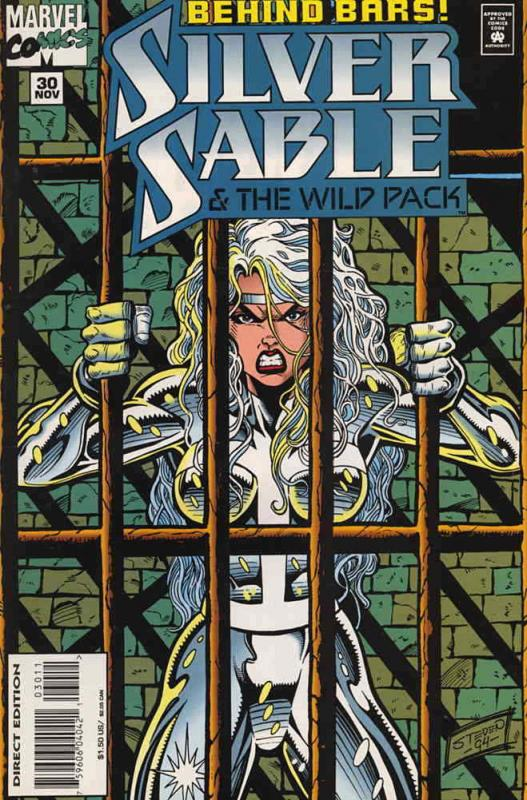 Silver Sable #30 VF; Marvel | save on shipping - details inside