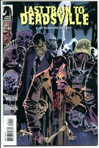 LAST TRAIN TO DEADSVILLE #1 2 3 4, NM+, Steve Niles, Cal McDonald, 2004, Horror