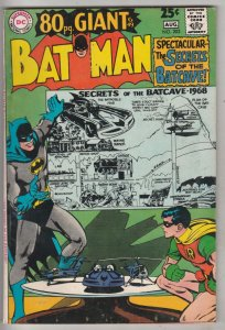 Batman #203 (Jul-68) FN Mid-Grade Batman