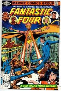 FANTASTIC FOUR #216, VF/NM, God, Byrne, 1961 1980, Marvel, more FF in store