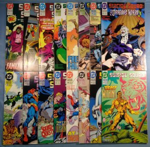Suicide Squad Lot #50-65 DC Batman Complete Run