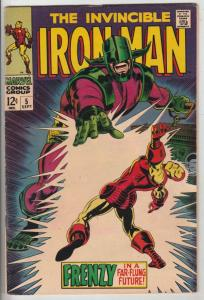 Iron Man #5 (Sep-68) NM- High-Grade Iron Man