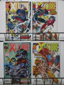 X CALIBRE (1995)1-4 complete Age Of Apocalypse story!
