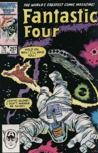 FANTASTIC FOUR #297, VF/NM, John Buscema, 1986, Human Torch, more FF in store