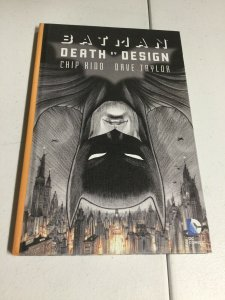 Batman Death By Design Nm Near Mint Oversized HC Hardcover DC Comics