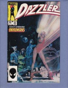 Dazzler #32 FN Marvel 1984