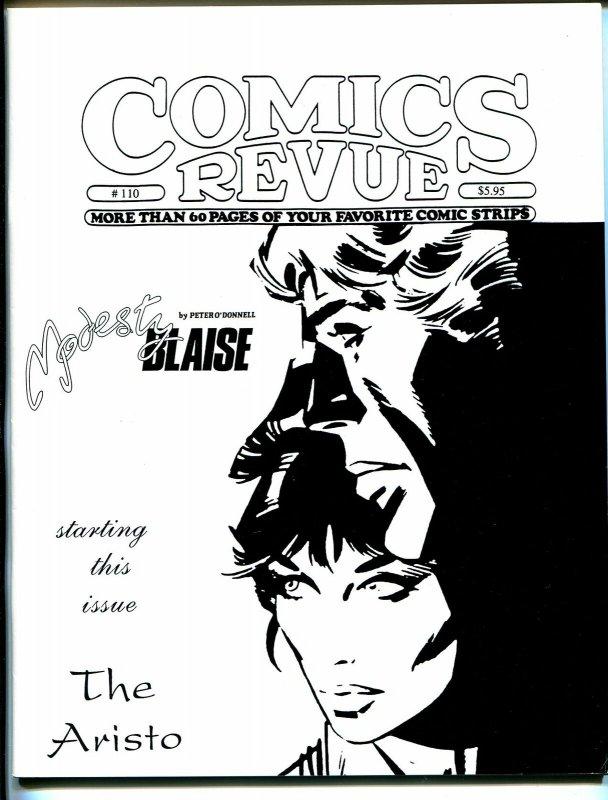 Comics Revue #110 1995-Romero-Spider-man-Modesty Blaise-Tarzan-VF