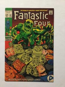 Fantastic Four 85 Tortured Land Vf Very Fine 8.0