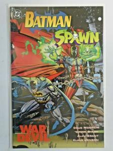 Batman Spawn War Devil #1 1st Print 8.0 VF (1994)