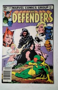 The Defenders #123 (1983) Marvel Comic Book J757