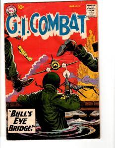 G.I. Combat # 70 VG DC Silver Age Comic Book 1959 Silver Age Bulls Eye JL17