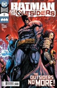 BATMAN AND THE OUTSIDERS #17 CVR A TYLER KIRKHAM