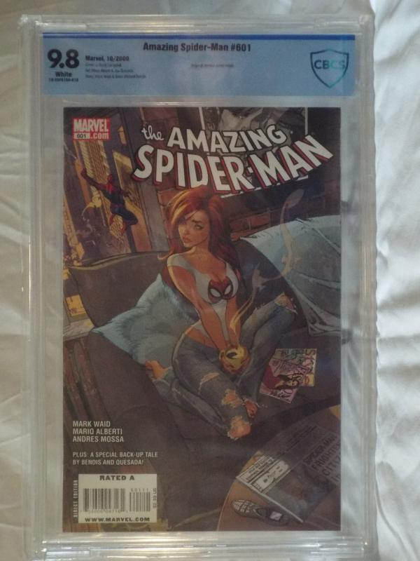 Amazing Spider-Man #601 - CBCS 9.8 - J.Scott Campbell Cover