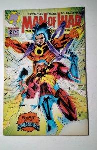 Man of War #2 Malibu Comic Book J756