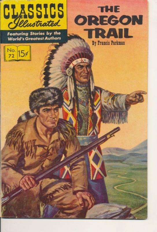 Classics Illustrated Oregon Trail Good/Very Good GD/VG (3.0) 1950 (917J)