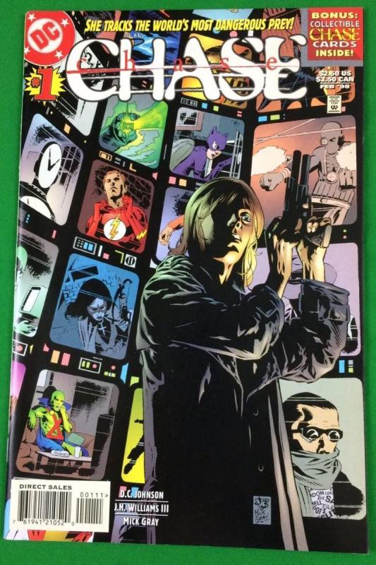 CHASE #1, NM, J.H.Williams, DC, 1998, more in store