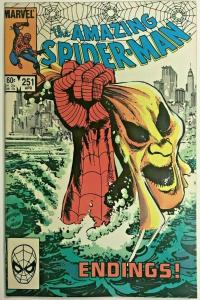AMAZING SPIDER-MAN#251 VF 1984 MARVEL COMICS