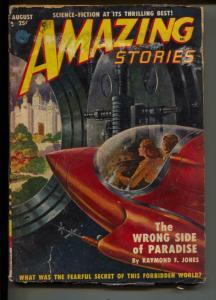 Amazing Stories-Pulp-8/1951-Walt Sheldon-Raymond F. Jones
