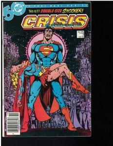 Crisis on Infinite Earths #7 (DC, 1985) KEY