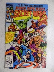 MARVEL SUPER-HEROES SECRET WARS # 1