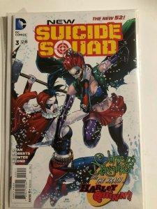 NEW 52 SUICIDE SQUADE #3 2015 DC COMICS / DIRECT SALES / UNREAD /  NM/+