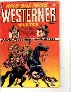 Wild Bill Pecos Westerner # 22 VG Comic Book Mort Lawrence 1949 Golden Age JL3