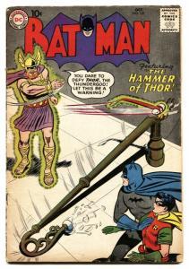 Batman #127 1959- DC Silver Age- Hammer of Thor VG-