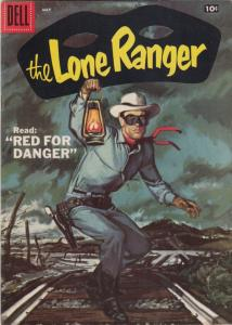 Lone Ranger, The #107 (May-57) VF/NM+ High-Grade The Lone Ranger, Tonto, Silver