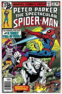 Spectacular Spider-Man #25 1st App Carrion (Marvel, 1978) VF