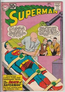 Superman #149 (Nov-61) FN Mid-Grade Superman, Jimmy Olsen,Lois Lane, Lana Lan...