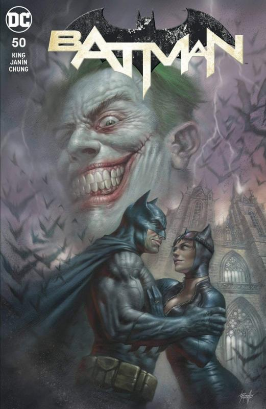 Batman #50 Lucio Parrillo Variant