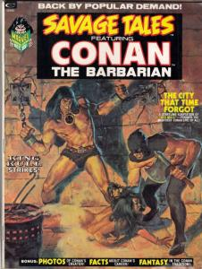 Savage Tales #2 (Oct-73) FN+ Mid-High-Grade Conan the Barbarian