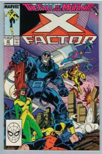X-Factor 25 Feb 1988 VF- (7.5)