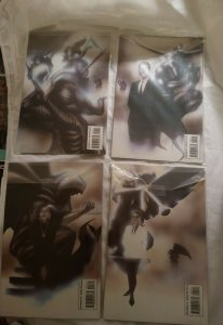 Lot Of 4 1993 Epic Comics Hellhound The Redemption Quest 1 2 3 4 Complete Series