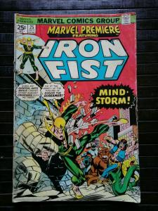 Marvel Premiere #25 (Marvel, 1975)  1st Iron Fist Art By John Byrne  LOW GRADE