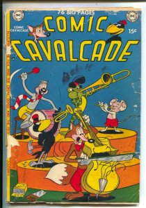 Comic Cavalcade #46 1951- Fox and Crow-Dodo and the Frog-Nutsy Squirrel- Gian...
