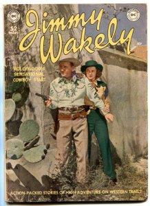 Jimmy Wakely #4 1950-Frazetta art- Wonder Woman VG