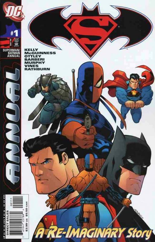 SUPERMAN/BATMAN ANNUAL (2006 DC) #1 NM- A92115